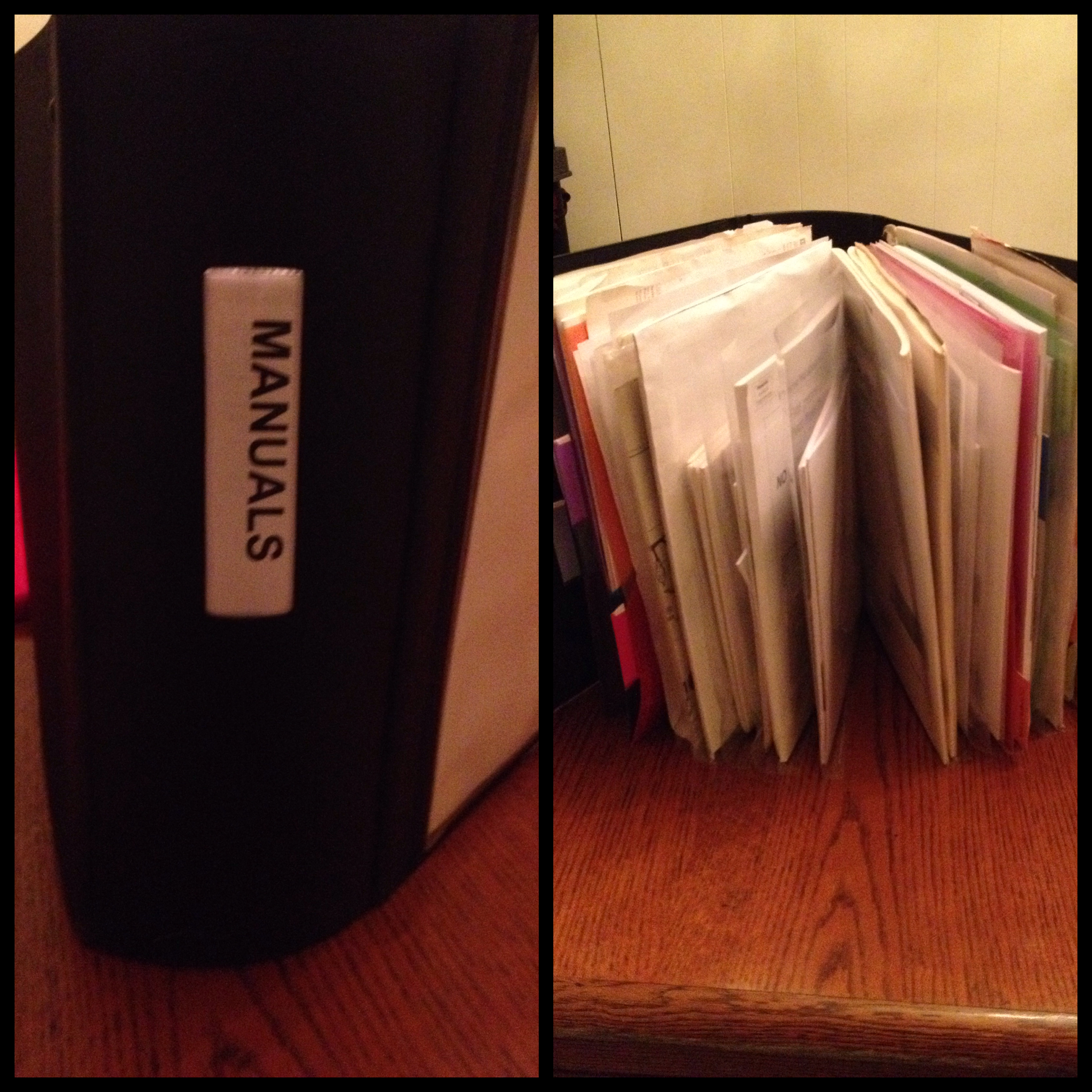 Organized Manuals